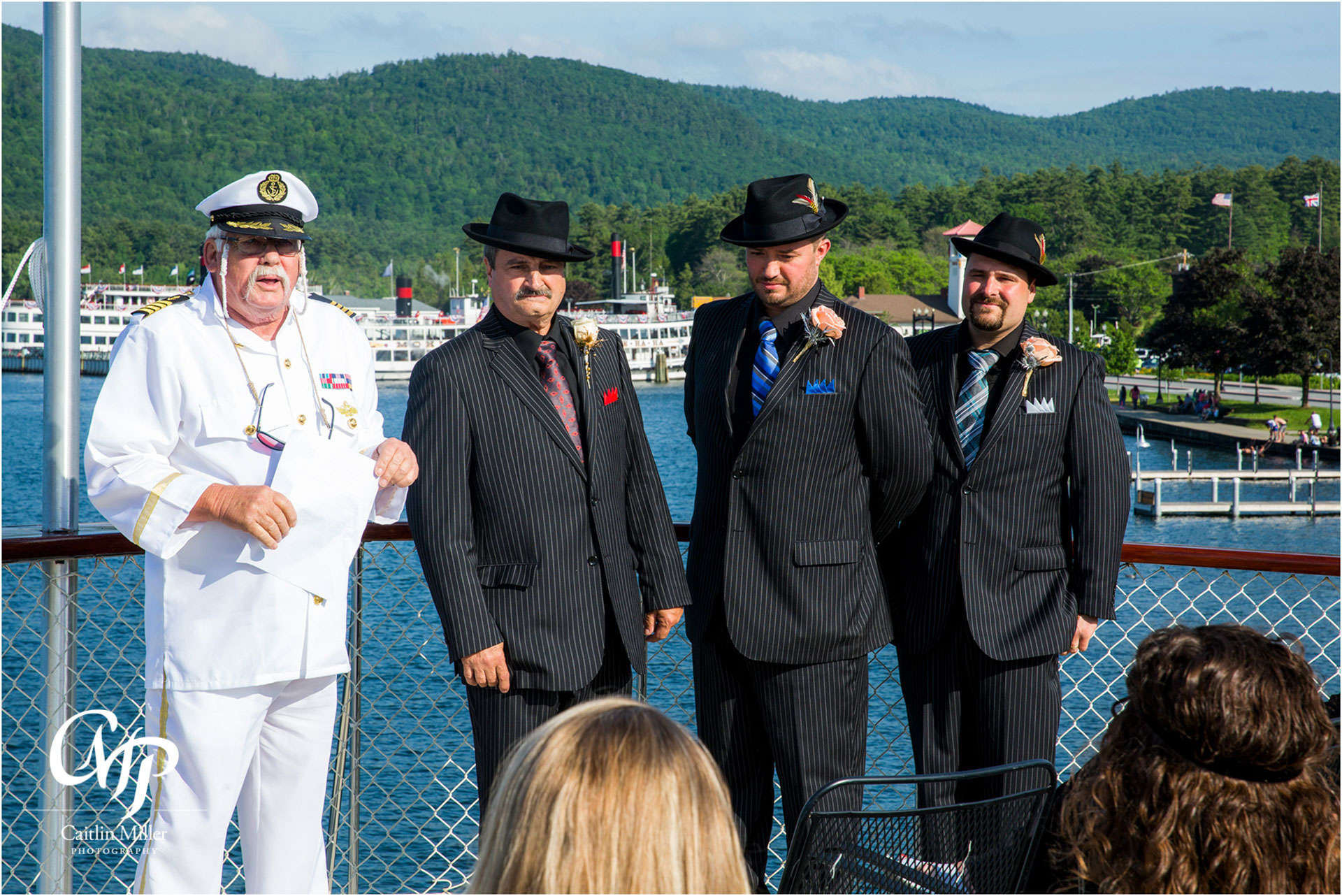 bombard-12.jpg from Jan and Robert's vow renewal on shoreline Cruise's Adirondac Boat on Lake George, NY by Saratoga Wedding Photographer Caitlin Miller Photography. Lake George Wedding Photographer. Stamford wedding photographer. Albany wedding photographer. Shoreline Cruises Wedding Photographer. Saratoga Wedding Photographer