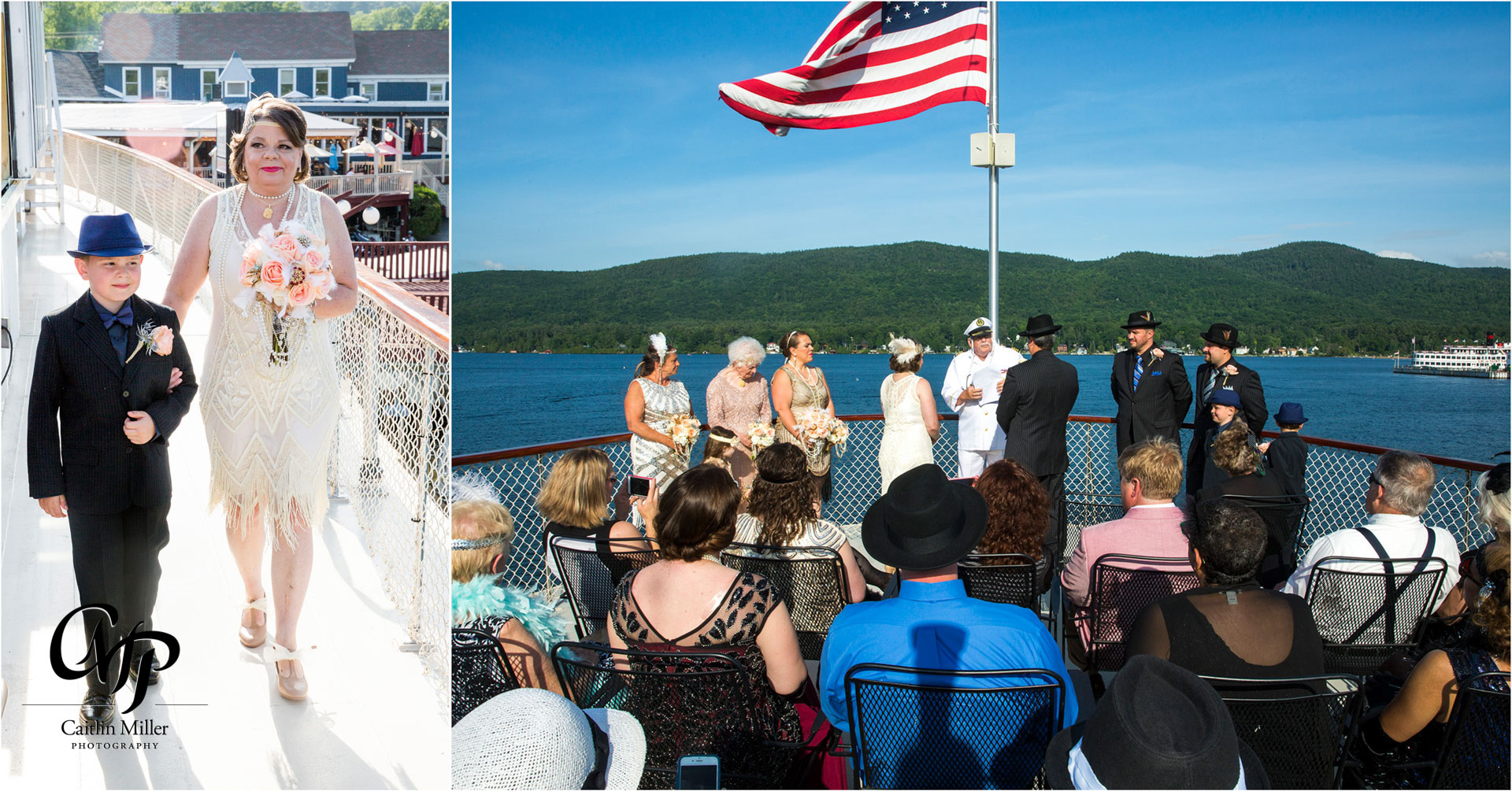 bombard-15.jpg from Jan and Robert's vow renewal on shoreline Cruise's Adirondac Boat on Lake George, NY by Saratoga Wedding Photographer Caitlin Miller Photography. Lake George Wedding Photographer. Stamford wedding photographer. Albany wedding photographer. Shoreline Cruises Wedding Photographer. Saratoga Wedding Photographer