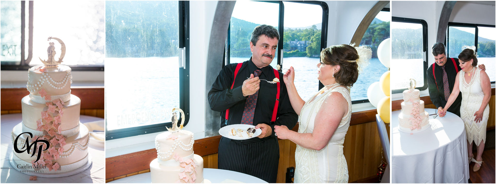 bombard-28.jpg from Jan and Robert's vow renewal on shoreline Cruise's Adirondac Boat on Lake George, NY by Saratoga Wedding Photographer Caitlin Miller Photography. Lake George Wedding Photographer. Stamford wedding photographer. Albany wedding photographer. Shoreline Cruises Wedding Photographer. Saratoga Wedding Photographer